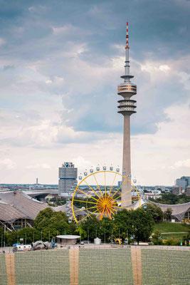 Olympiapark München - Sommer in der Stadt