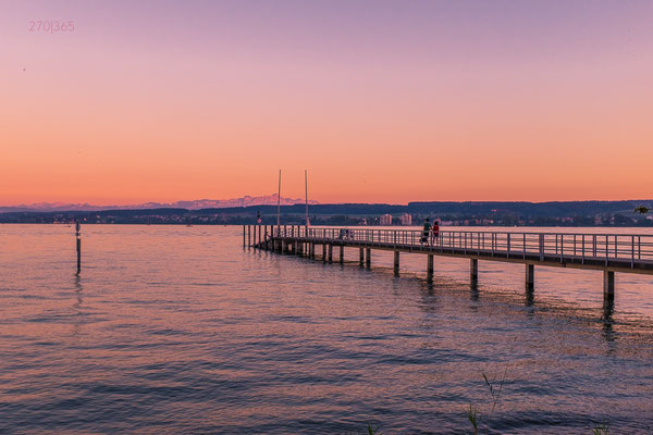 270|365 26.08.2016 - Sonnenuntergang am Bodensee