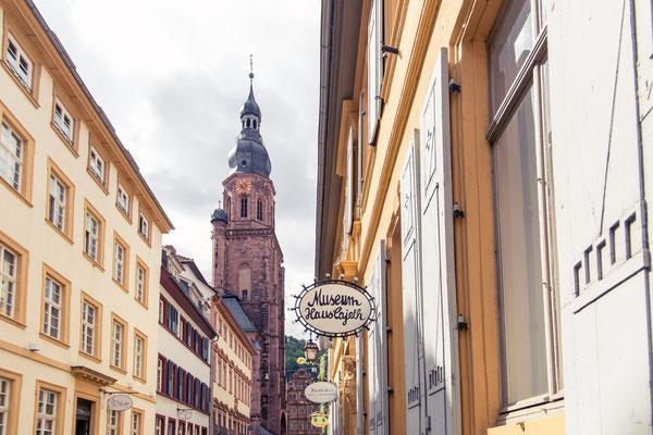 167|365 15.05.2016 - Haspelgasse mit Heiliggeistkirche, Heidelberg