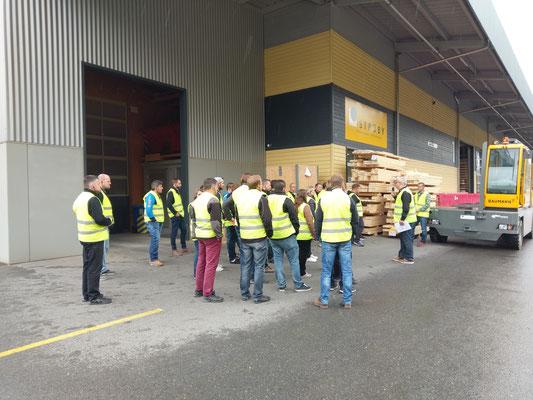 Besichtigung der Strüby Holzbau AG
