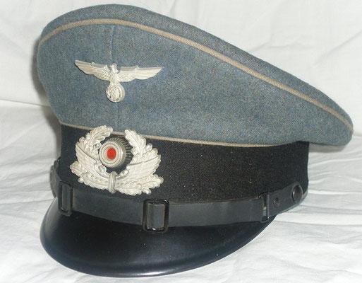 Schirmmütze für Bzp-Anwärter bis Bzp-Zugführer