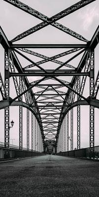 Brückenarchitektur in Hamburg-Harburg