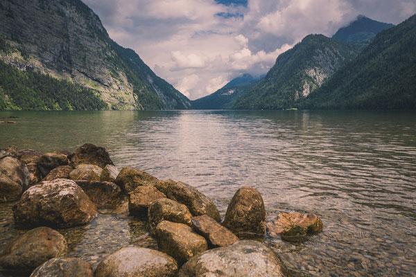 Der Königssee im Berchdesgadener Lad