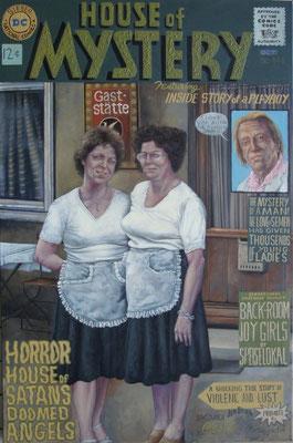 Gemälde  448  House of Mystery   Acryl auf Leinwand  115 x 160 cm