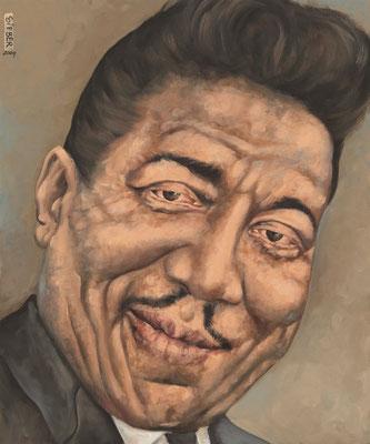 Gemälde 339  Muddy Waters   Acryl auf Leinw.,2009, 50 x 60 cm