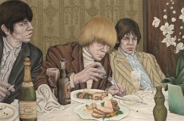 Gemälde 365  Brian & Co.   Acryl auf Leinw.,2010,  80 x 120 cm