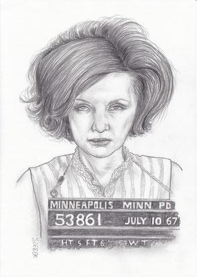 Zeichnung 433  Minneapolis 53861  Graphit   auf Karton,2012,  21x30 cm