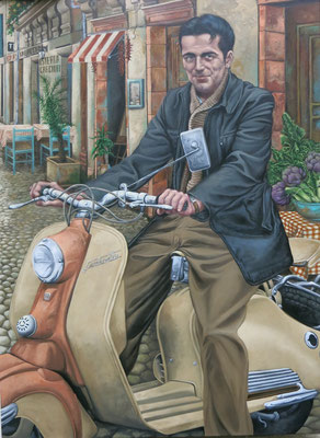 Gemälde 501 Carciofi, Acryl auf Leinwand, 2015, 110 x 150 cm