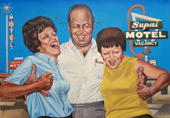 Gemälde 565,SUPAI, Acryl auf Leinwand, 2020, 70 x 100 cm