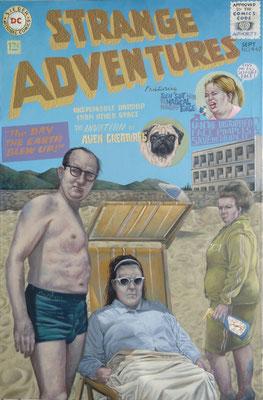 Gemälde  447  Strange Adventures   Acryl auf Leinwand   115 x 160 cm