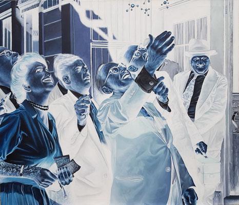 Gemälde 513, Discovery,Acryl auf Leinwand,2016, 120 x 140 cm