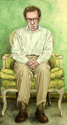 Gemälde 271  Allan Stewart Konigsberg  , Acryl auf Leinwand ,2008,  80 x 145 cm