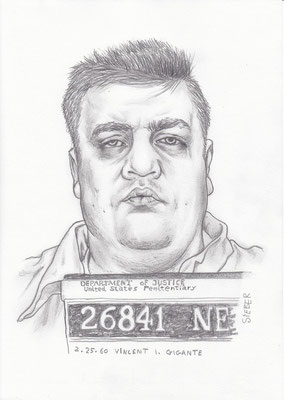 Zeichnung 425  Vincent Gigante  Graphit  auf Karton,2012,  21x30 cm