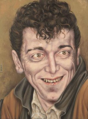 Gemälde 338  Gene Vincent   Acryl auf Leinw.,2009, 60 x 80 cm