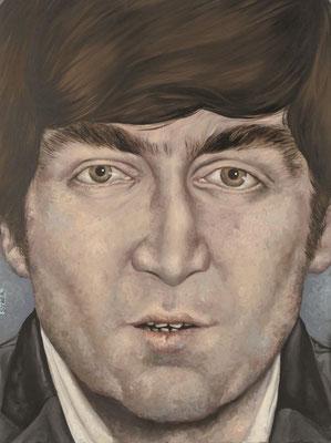 Gemälde 361  John   Acryl auf Leinw.,2010,   60 x 80 cm