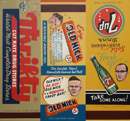 Gemälde 686,MATCHBOX Vol 1, Acryl auf Leinwand, 2021,150 x 160  cm