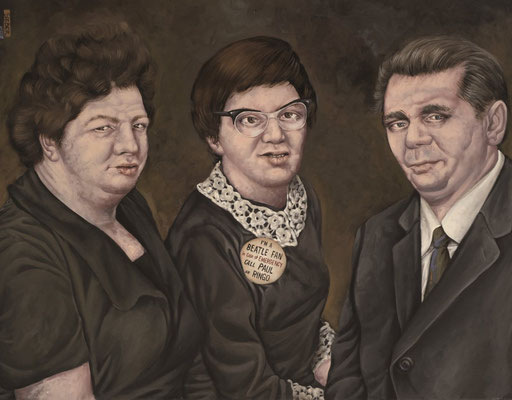 Gemälde 363  In Case of Emergency   Acryl auf Leinw.,2010,   70 x 90 cm