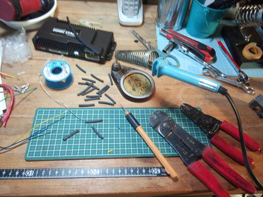 自動車電装部品取付、加工 www.e-arts.net/