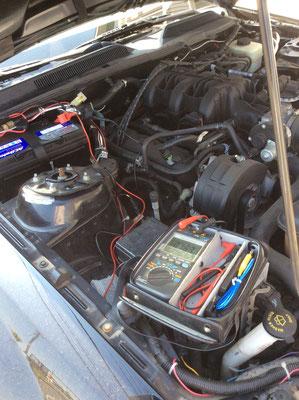 自動車電装整備、電流測定の診断修理 www.e-arts.net/
