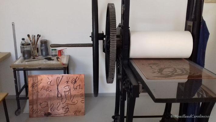 Atelier lithographique de Joan Miró