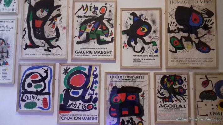 Affiches de Joan Miró