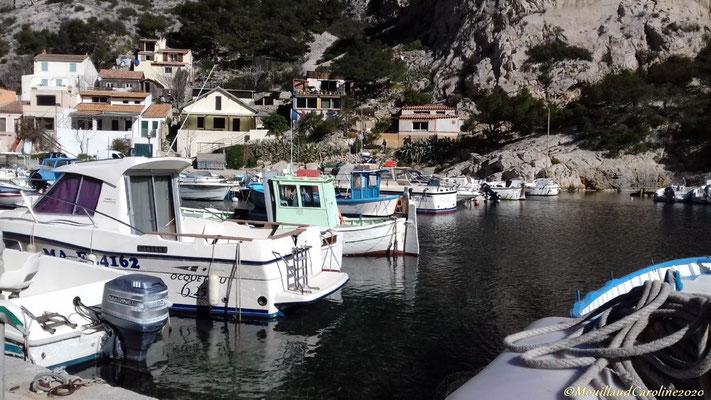 Port de pêche de Morgiou