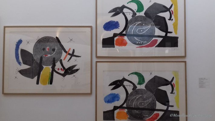 Joan Miró - le croc à phynances II et III 1971