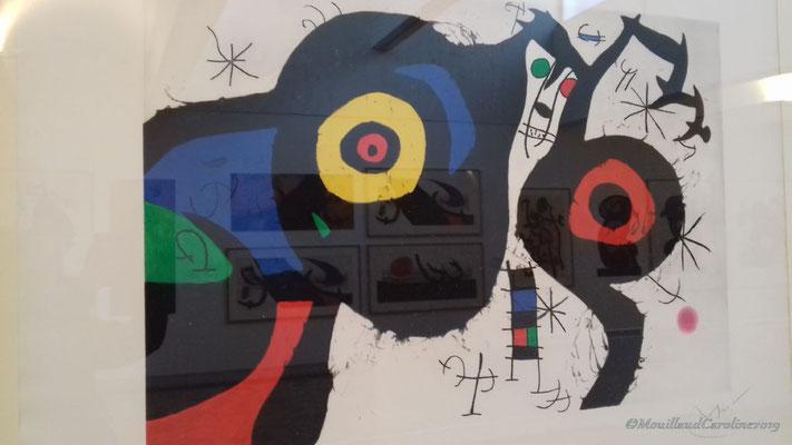 Joan Miró - Les deux amis 1969