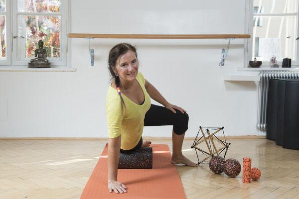 Faszientraining  im Pilates- und Bewegungszentrum Telfs