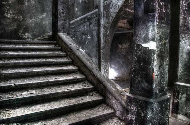 Treppe im Alpenhaus