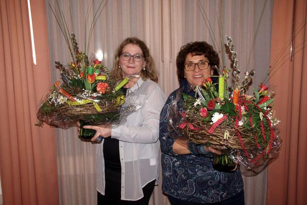 Verabschiedung Annelise Frieden und Evelyn Stoll