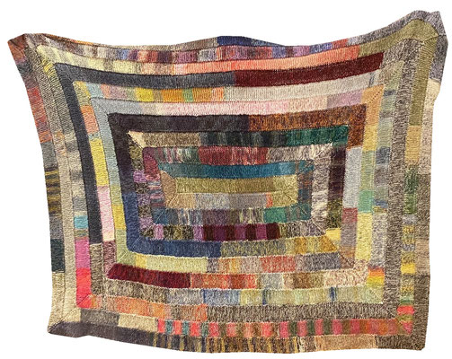 Eva Kilian - gestrickte Decke