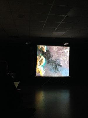 """Résidence de création """"Sur la corde raide"""" Pih-Poh - Espace Malraux - décembre 2015"""