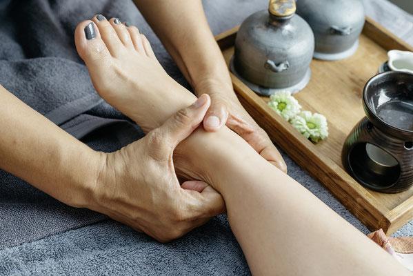 Aroma-Öl Massage