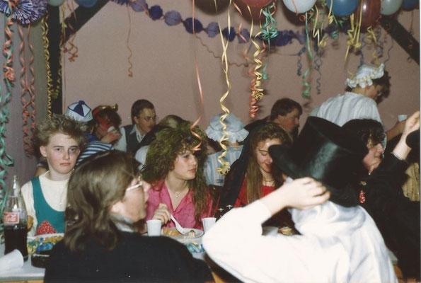 Fasching Ende der 80er