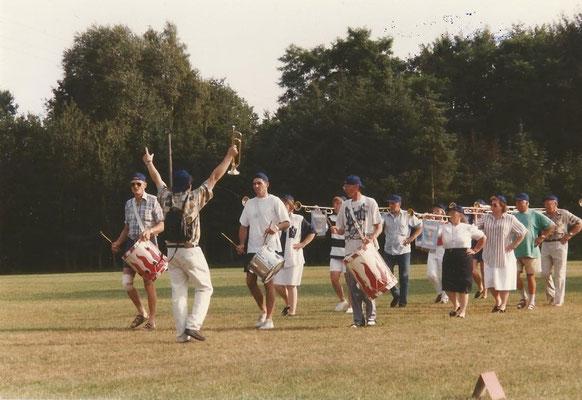 Auftritt der Ehemaligen am 25. Jubiläum 1997