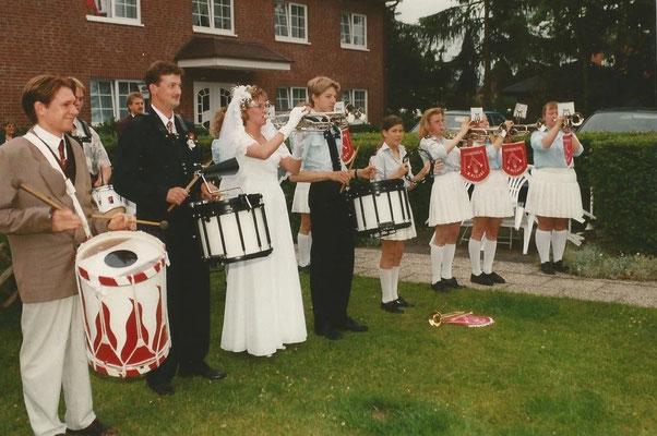 Ständchen an einer Hochzeit 1996