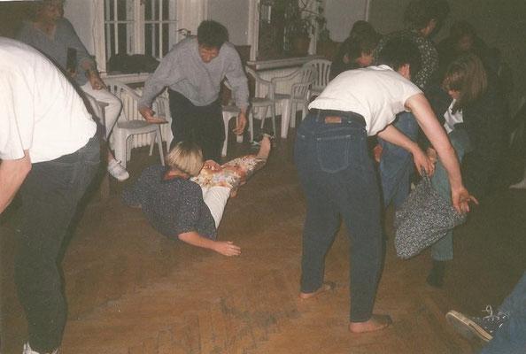 Wochenendfahrt im März 1994