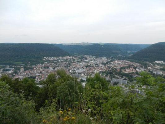 Blick auf Geislingen