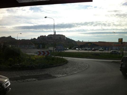 Letzter Blick auf Nikolsburg