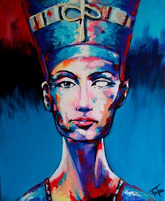 NOFRETETE     Acrylic  on Canvas 60x50 cm  