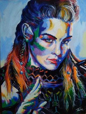 ALOY     Acrylic  on Canvas 60x80 cm  