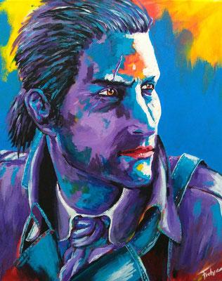 NATHAN     Acrylic on Canvas 40x50 cm  