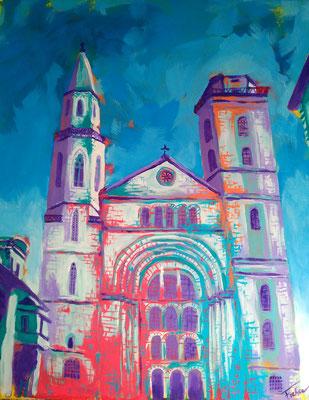 ST.-JOHANNIS-KIRCHE   | Acrylic on Canvas 40x50 cm |