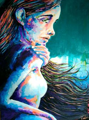 JENNA     Acrylic  on Canvas 60x80 cm  