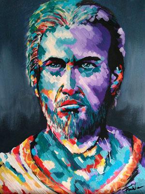 GREEK     Acrylic  on Canvas 40x50 cm  