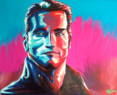 ARNOLD     Acrylic  on Canvas 50x40 cm  