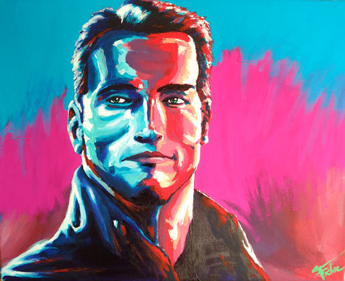 ARNOLD   | Acrylic  on Canvas 50x40 cm |