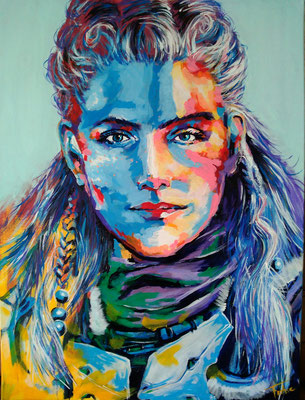 ALOY WINTER   | Acrylic  on Canvas 60x80 cm |