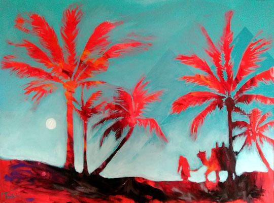 GATES OF RE-STAU   | Acryl on Canvas 80x60 cm |